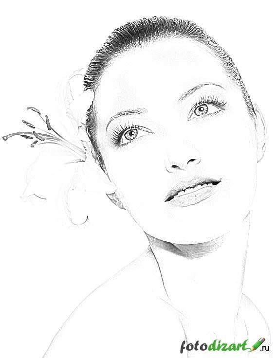 Рисунок карандашом из фото