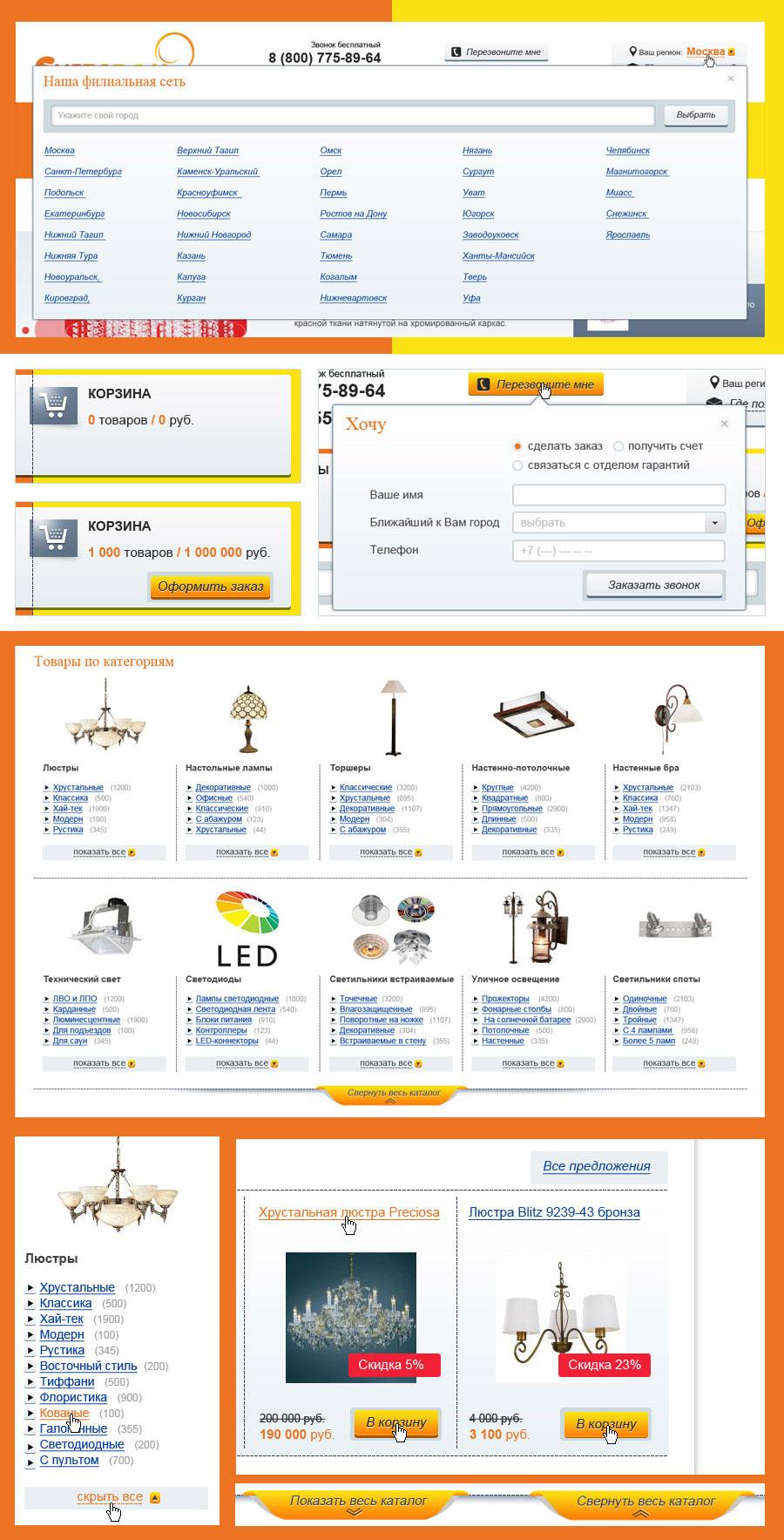 интерактив интернет-магазина