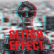 Как сделать глитч эффекты