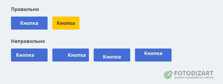 дизайн кнопки веб-дизайн