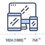 размеры макета сайта